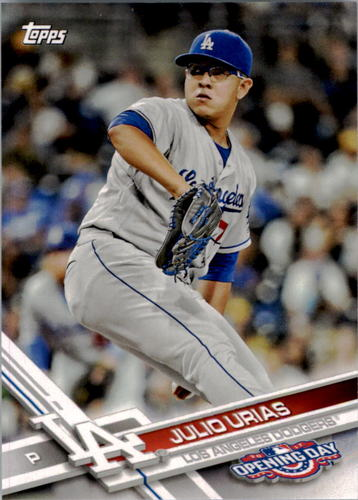 Photo of 2017 Topps Opening Day #186 Julio Urias