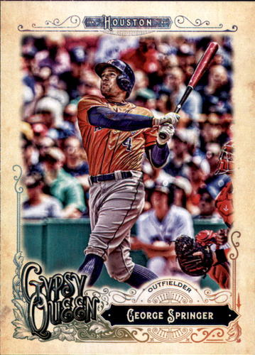 Photo of 2017 Topps Gypsy Queen #183 George Springer