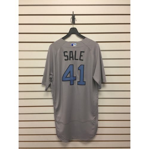 Photo of Chris Sale Team-Issued 2017 Father's Day Road Jersey