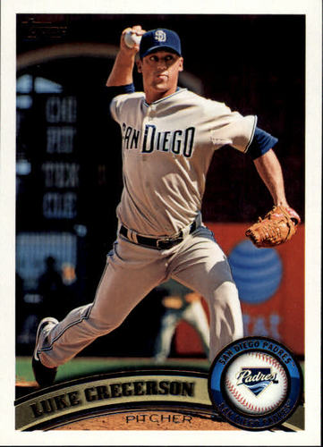 Photo of 2011 Topps #561 Luke Gregerson -- Astros post-season