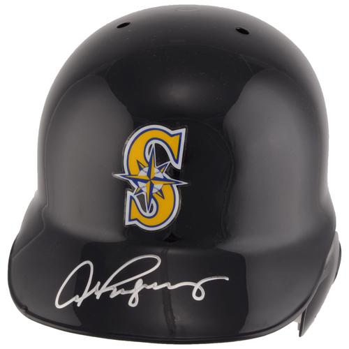 Photo of Alex Rodriguez Seattle Mariners Autographed Replica Batting Helmet