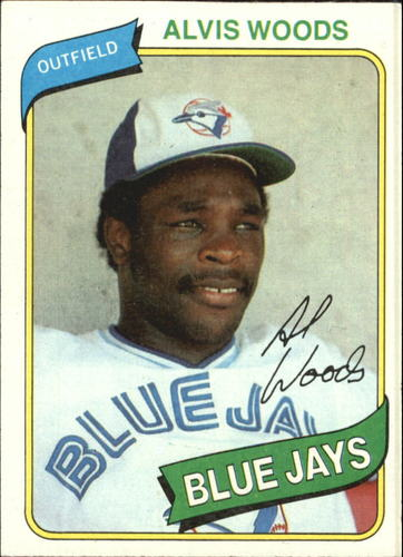 Photo of 1980 Topps #444 Alvis Woods