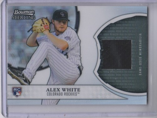 Photo of 2011 Bowman Sterling Rookie Relics #AW Alex White