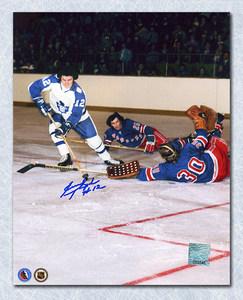 Errol Thompson Toronto Maple Leafs Autographed 8x10 Photo