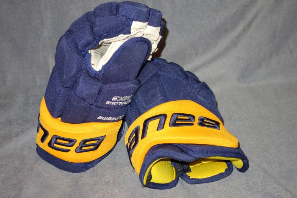 Jack Eichel Game Used Gloves