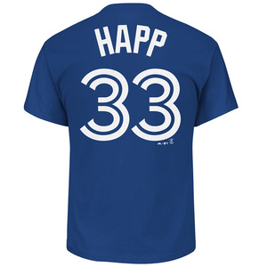 Toronto Blue Jays J.A. Happ Player T by Majestic