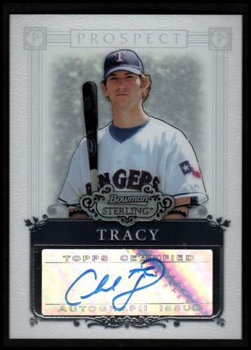 Photo of 2006 Bowman Sterling Prospects #CT Chad Tracy AU A
