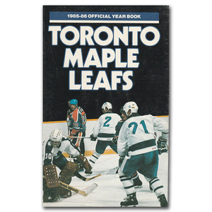 Toronto Maple Leafs 1985-86 Fact Book