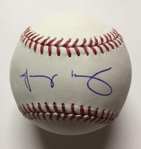 Jacoby Ellsbury Autographed Baseball