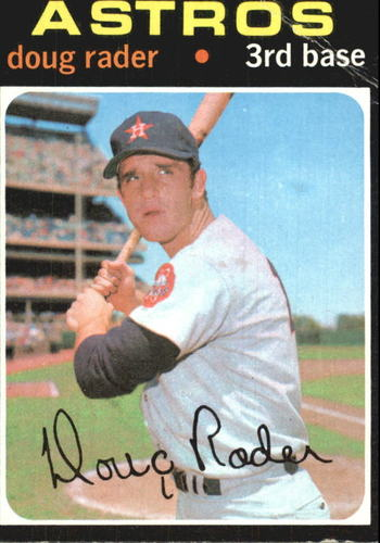 Photo of 1971 Topps #425 Doug Rader