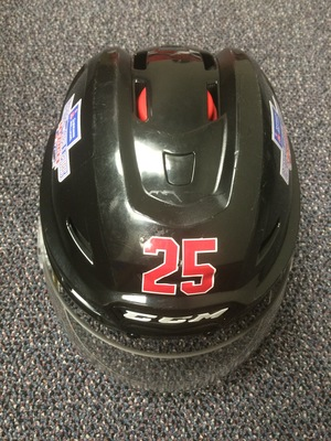 Cal Foote 2017 Sherwin-Williams CHL/NHL Top Prospects Game Worn Helmet
