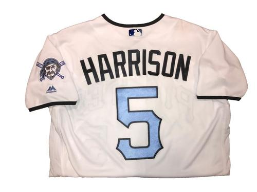 Photo of Josh Harrison Game-Used Father's Day Weekend Jersey - Worn on 6/17 & 6/18