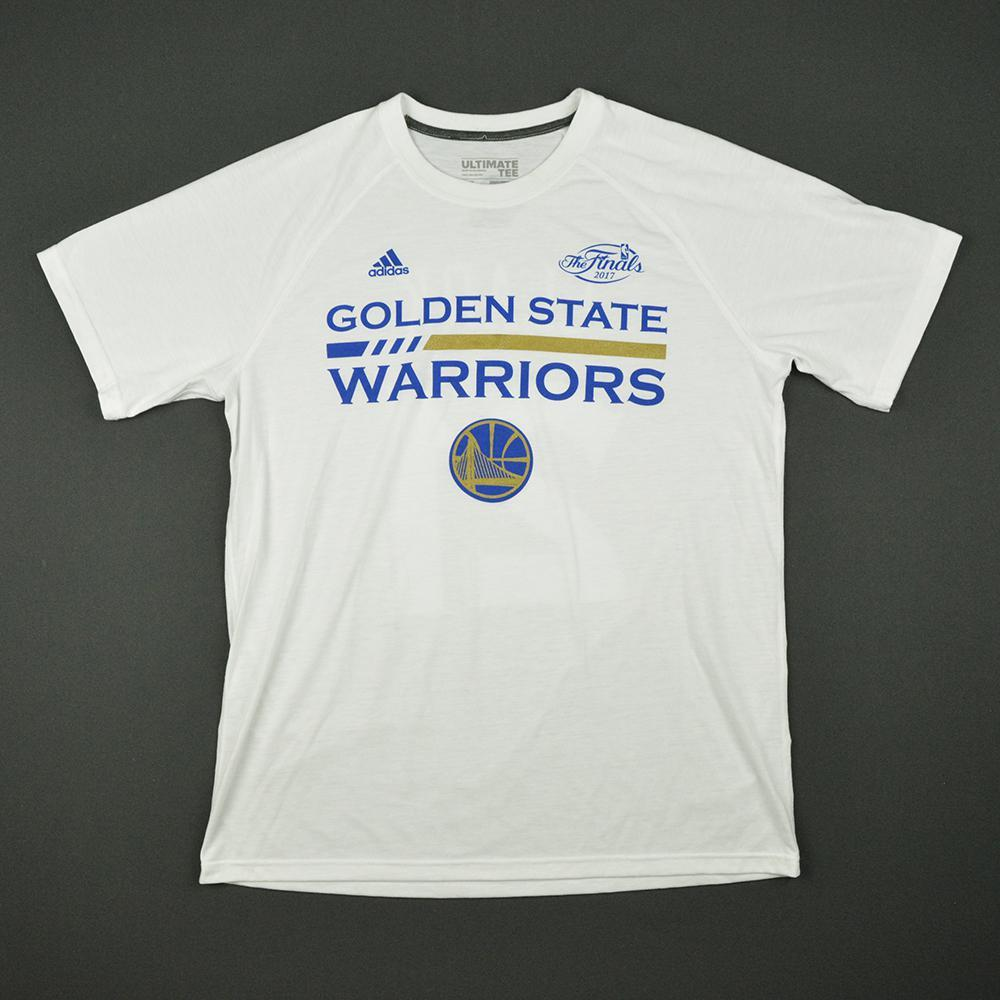 Kevon Looney - Golden State Warriors - 2017 NBA Finals - Game-Issued Shooting Shirt