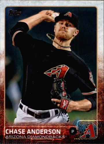 Photo of 2015 Topps #506 Chase Anderson