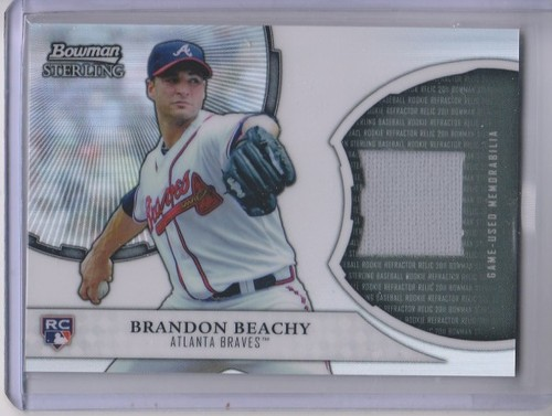 Photo of 2011 Bowman Sterling Rookie Relics #BB Brandon Beachy