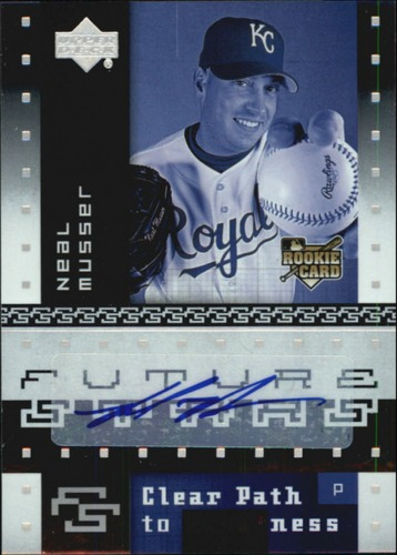 Photo of 2007 Upper Deck Future Stars #167 Neal Musser AU RC