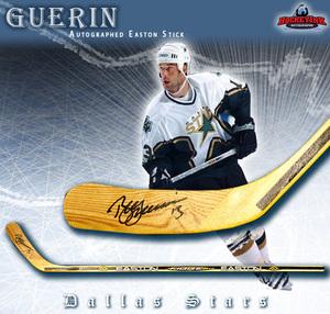 BILL GUERIN Signed Hockey Stick