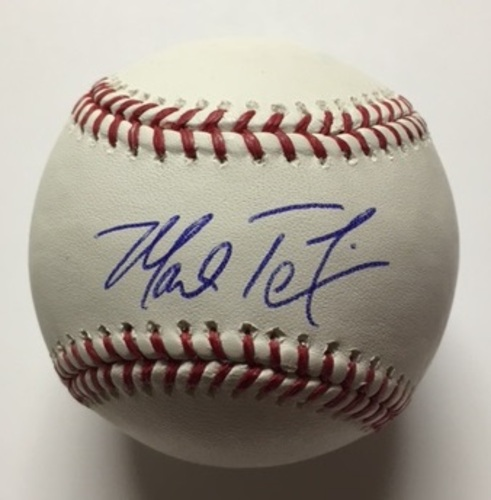 Photo of Mark Teixeira Autographed Baseball