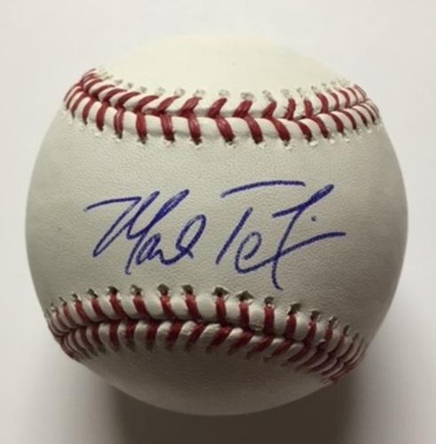 Mark Teixeira Autographed Baseball