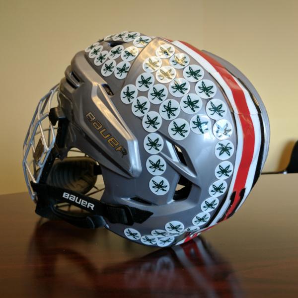 Team Issued Ohio State Hockey Helmet
