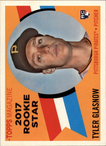 Photo of 2017 Topps Archives '60 Rookie Stars #RS8 Tyler Glasnow