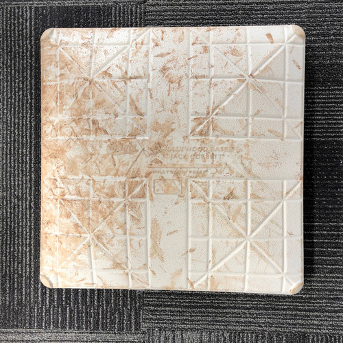 Photo of San Francisco Giants - HOLIDAY STEALS - 2017Game-Used Base - St. Louis Cardinals at San Francisco Giants - September 3rd, 2017 - 1st Base from Innings 1-3 - Bottom 3rd - Panik Double, Posey Single (Panik Scores)