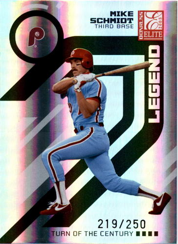 Photo of 2005 Donruss Elite Turn of the Century #162 Mike Schmidt RET