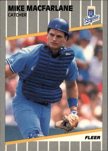 Photo of 1989 Fleer Glossy #287 Mike Macfarlane