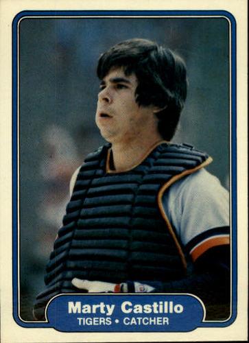 Photo of 1982 Fleer #265 Marty Castillo