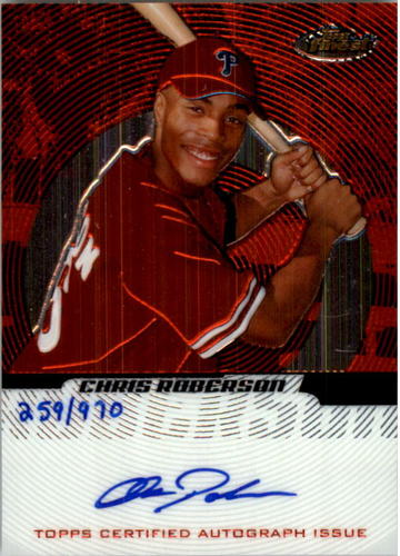 Photo of 2005 Finest #151 Chris Roberson AU/970