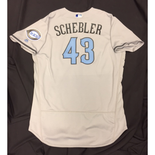 Photo of Team-Issued Jersey - Scott Schebler - Father's Day Jersey