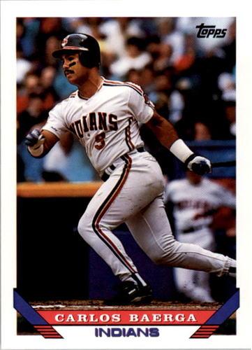 Photo of 1993 Topps #221 Carlos Baerga