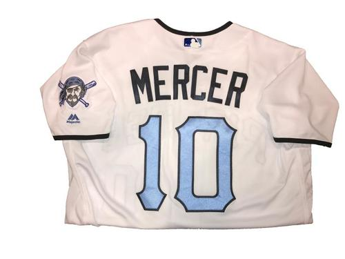 Photo of Jordy Mercer Game-Used Father's Day Weekend Jersey - Worn on 6/17 & 6/18