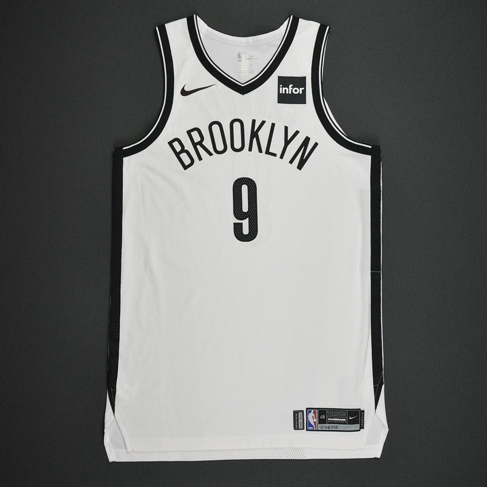DeMarre Carroll - Brooklyn Nets - Kia NBA Tip-Off 2017 - Game-Worn Jersey