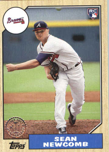 Photo of 2017 Topps Update '87 Topps #US8749 Sean Newcomb