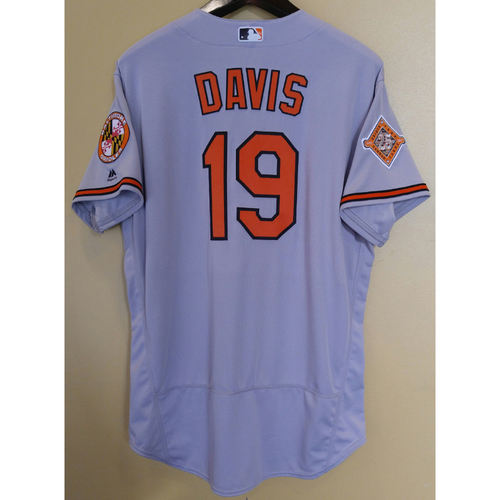 Photo of Chris Davis - Jersey: Team-Issued