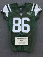 New York Jets - 2014 #86 David Nelson Game Worn Jersey