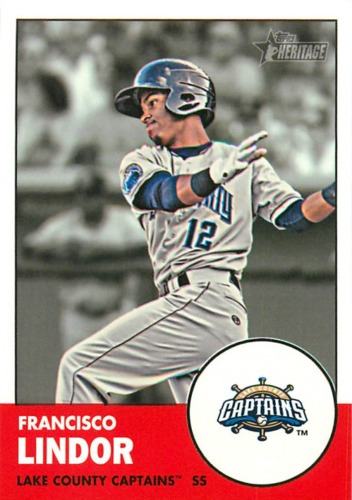 Photo of 2012 Topps Heritage Minors #9A Francisco Lindor