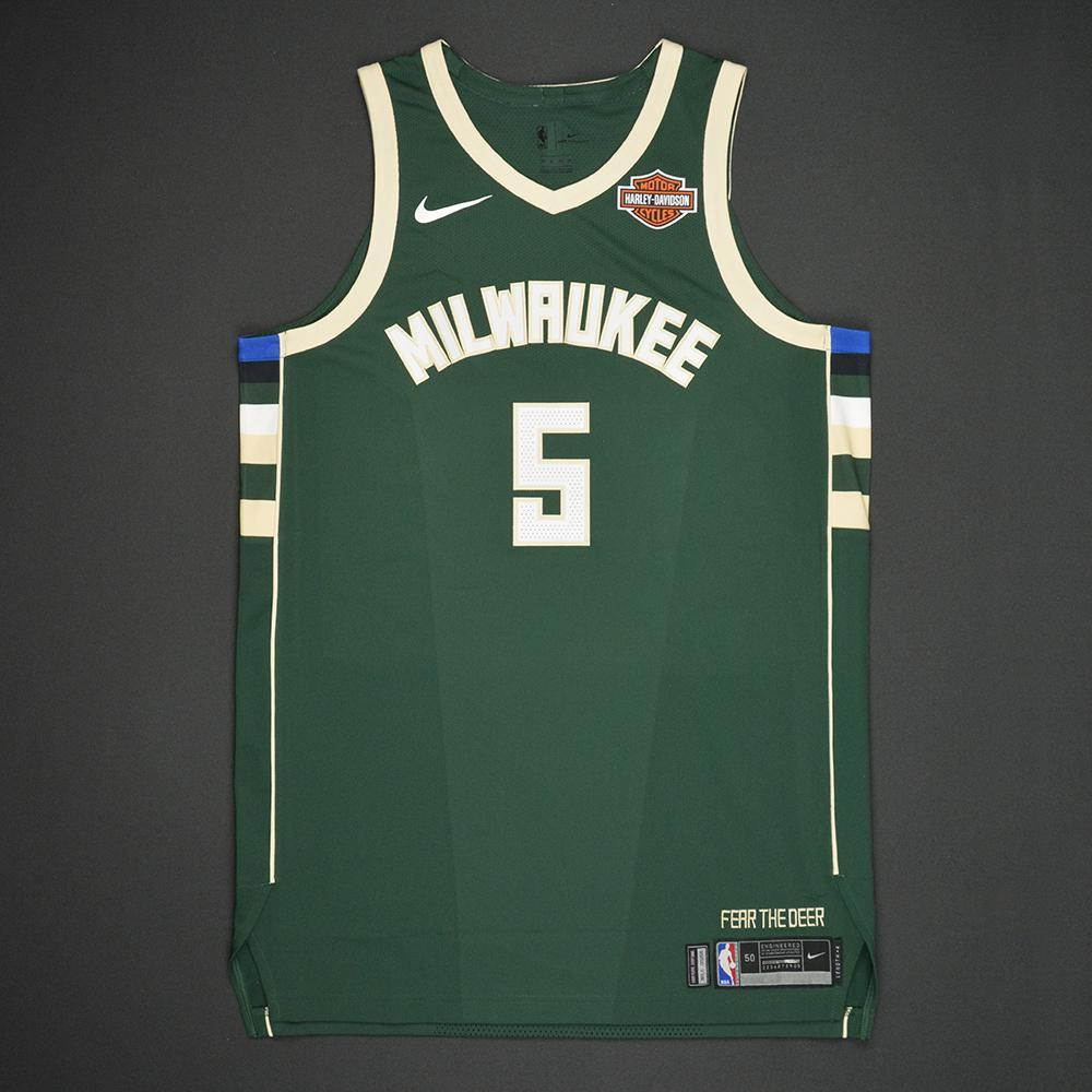 DJ Wilson - Milwaukee Bucks - 2017 NBA Draft - Autographed Jersey