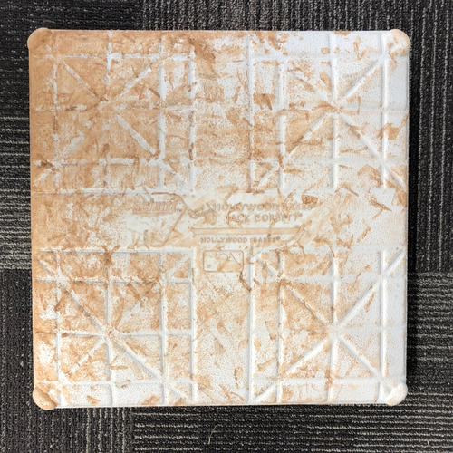 Photo of San Francisco Giants - HOLIDAY STEALS - 2016Game-Used Base - San Diego Padres at San Francisco Giants - May 25, 2016 - 1st Base from Innings 1-3 - Top 1st - Solarte Double, Upton Jr. Single