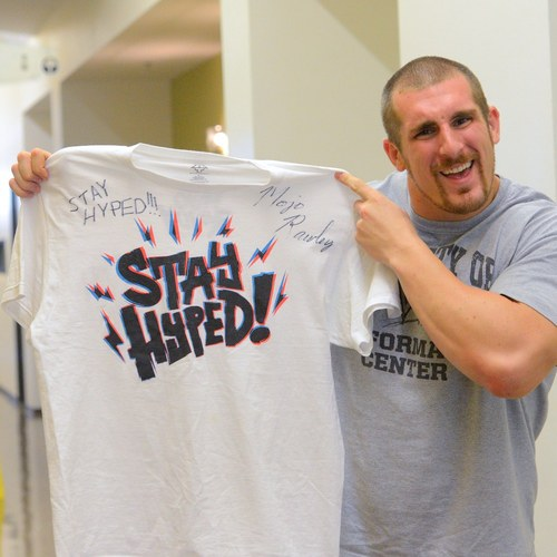 Mojo Rawley SIGNED Authentic T-Shirt
