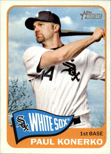 Photo of 2014 Topps Heritage #70 Paul Konerko