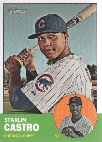 Photo of 2012 Topps Heritage #193A Starlin Castro