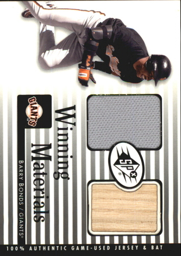 Photo of 2000 SPx Winning Materials #BB1 B.Bonds Bat-Jsy