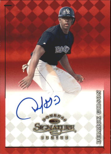 Photo of 1998 Donruss Signature Autographs #35 Derrick Gibson/1200*