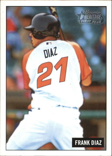 Photo of 2005 Bowman Heritage #216 Frank Diaz FY RC