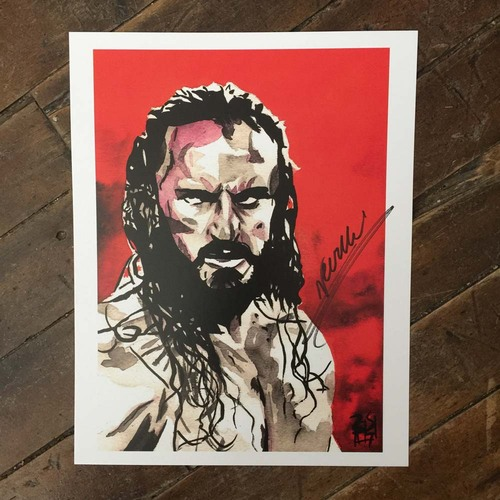 Photo of Neville SIGNED 11 x 14 Rob Schamberger Print