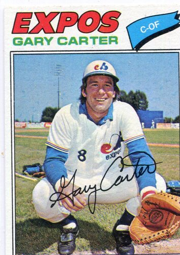 Photo of 1977 Topps #295 Gary Carter -- Hall of Famer