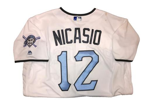 Photo of Jaun Nicasio Game-Used Father's Day Weekend Jersey - Worn on 6/17 & 6/18