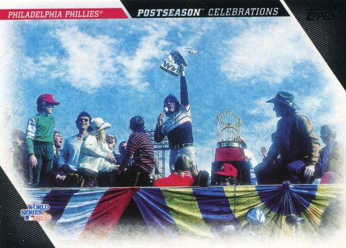 Photo of 2017 Topps Update Postseason Celebration #PC3 Philadelphia Phillies